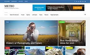 website design ideas 2017 27 best wordpress magazine themes of 2017
