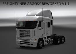 Freightliner Interior Parts Freightliner Argosy Reworked V1 1 American Truck Simulator Mods