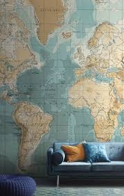 7 best wall murals maps images on pinterest map wallpaper bathyorographical map mural