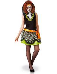 Dia De Los Muertos Costumes Dia De Los Muertos Costume For Women Vegaoo