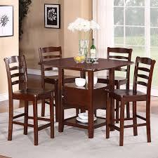 tall dining room sets amazoncom 5 pc derick counter height table