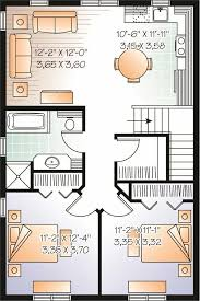 2 floor plans with garage garage w apartments home plan 2 bedrms 1 baths 1042 sq ft