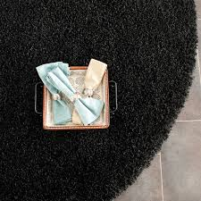 Rug Black Thick Pile Black Shag Rug California Shags Safavieh Com