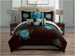 Turquoise Bedding Sets King Chocolate Brown And Turquoise Bedding Home Design U0026 Remodeling Ideas