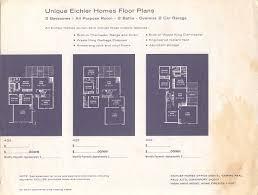 eichler atrium floor plan resurrected eichler plans 2177 sf claude oakland 4 bed 3 bath