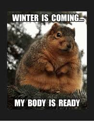 Winter Is Coming Meme - winter is coming my body is ready bodies meme on me me