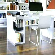 White Modern Desk Mid Century Modern Office Desk Modern Office Desk Chairs Image Of