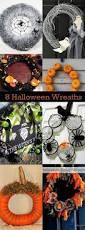 Halloween Wreaths Ideas by Best 20 Eclectic Wreaths And Garlands Ideas On Pinterest