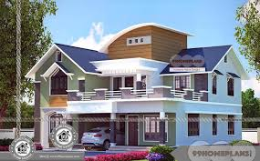 small modern home central courtyard house plans for kerala with latest small modern home