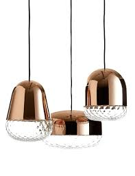 designer glass pendant lights with best 25 hanging l design