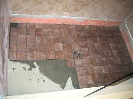 shower floor repair best shower