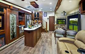 fifth wheel rv with front bathroom 369rl ms travel trailers two