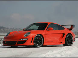 orange porsche 2006 gemballa gtr 650 evo orange porsche 997 sa snow 1024x768