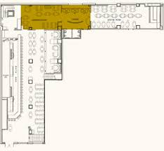 Msg Floor Plan Private Party Rooms And Corporate Events Midtown Manhattan Stout Nyc