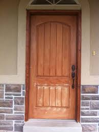 Stain For Fiberglass Exterior Doors Exterior Fiberglass Doors That Been Wood Grained Or Faux