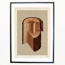 wood print wood print