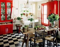 country kitchen idea adorable country kitchen idea with rustic wood dining table and