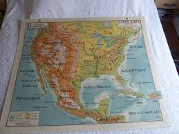 Map Of Old Mexico by Vintage French Posters Botany Animals Anatomy Old World Maps From
