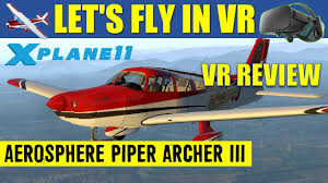 aerosphere piper archer iii pa28 181 x plane 11 virtual reality