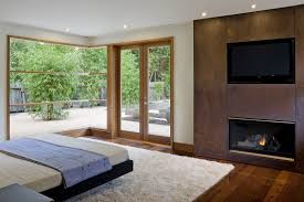 wheeler residence designed by william duff architects modern contemporary fireplace designs tv above full size