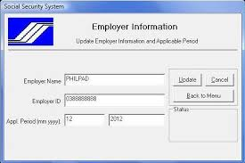 Request Letter For Sss Certification How To Use Sss R3 Program And Generate File