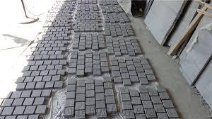 Granite Patio Stones G684 Paving Stone Cobble Stone Cube Paving Set Basalt Setts Patio