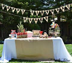 backyard birthday party ideas backyard cout birthday party tidbits twine