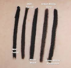 is it a dupe urban decay perversion black eyeliner comparison