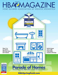 hba magazine parade of homes edition 2015 by home builders