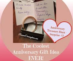 anniversary gifts for him 2 years the coolest anniversary gift idea rosann cunningham