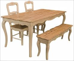 Kitchen  Furniture French Style Antique Farmhouse Kitchen Table - Bench style kitchen table
