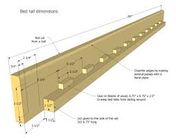Bunk Bed Side Rails Picture Plans To Build Bunk Beds