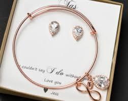 personalized wedding jewelry wedding bracelets etsy