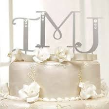 monogram cake toppers for weddings swarovski monogram cake topper wedding cake toppers wedding