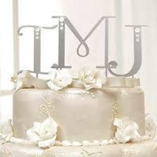monogram cake toppers swarovski monogram cake topper wedding cake toppers wedding
