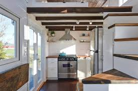 tiny homes interior designs custom mobile tiny house with large kitchen and two lofts