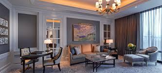 Livingroom Club Two Bedroom Carlton Club Suite In China The Ritz Carlton Macau