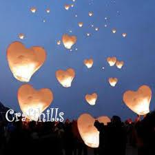40 pcs color shape sky kongming flying wishing paper
