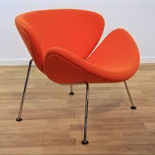 orange slice lounge chair by pierre paulin for artifort 1960s