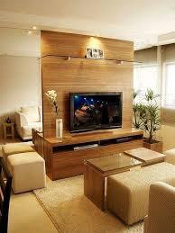 salas living room wall units destaque para espelho ao lado do painel decorando estilo