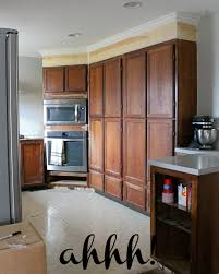 kitchen cabinet moldings wonderfully made extending kitchen cabinets to the ceiling