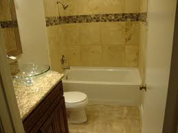 traditional full bathroom with raised panel u0026 limestone tile