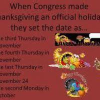 thanksgiving is the third thursday in november divascuisine