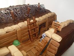 war cakes world war one trench birthday cake cakecentral
