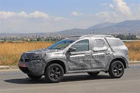 dacia 2019 dacia duster spied for the first time prototype looks
