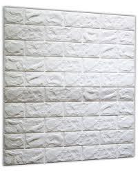 amazon com soomj 3d brick tile 1 pack white 2 6ft x 2 3ft