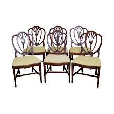 drexel new travis court shield back dining chairs set of 6