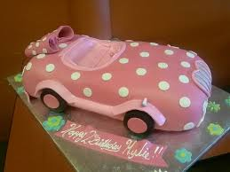 pink car birthday cake image inspiration of cake and birthday