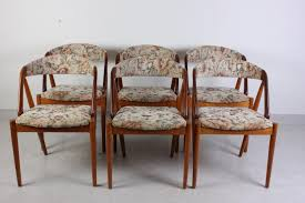 table and 6 chairs for sale mid century dining chairs by kai kristiansen set of 6 for sale at