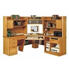 Wood Computer Desk With Hutch Foter by Corner Computer Desk Foter
